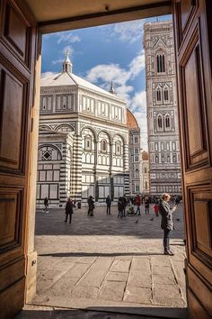 Piazza Duomo. Florence.