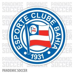 Esporte Clube Bahia was founded in January 1931 in the city of Salvador on the state of Bahia in Brazil. Esporte Clube Bahia is the biggest. Fifa, Soccer Pro, Soccer Teams, Soccer Banner, Soccer Sports, Soccer Ball, Live Stream, Soccer World, Great Logos