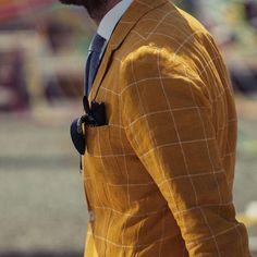 Gentlemen Wear This: Linen jacket