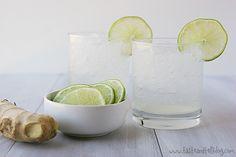 Ginger Lime Spritzer - Taste and Tell