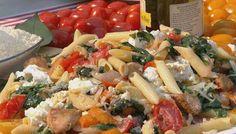 Ree Drummond's Chicken Florentine Pasta
