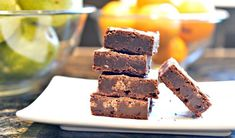 These blissful bars are a delicious way to use up your extra Halloween candy. No candy? No problem, we've got you covered. Best Brownie Recipe, Brownie Recipes, My Recipes, Chocolate Mousse Pie, Best Brownies, Holiday Baking, Dessert Bars, Love Food, Halloween Candy