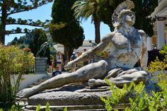 Dying Achilles, Achilleion Palace Corfu
