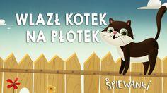 Wlazł kotek na płotek  – piosenka z teledyskiem dla dzieci. Śpiewanki.tv