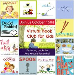 Toddler Approved!: October Virtual Book Club- Amy Krouse Rosenthal. Come just as we spotlight Amy Krouse Rosenthal this month! What is your favorite book she's written?