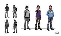 Résultats de recherche d'images pour «walking dead game concept art»