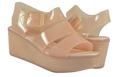 New Summer Style Comfortable Women Jelly Sandals Slingbacks Wedge Heels Shoes  - BUY NOW ONLY 19.99