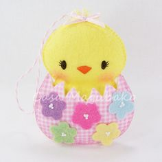 This item is a digital sewing pattern that will help you handcraft a felt (or felt and fabric) chicken in an eggshell as an embellishment, ornament or soft toy. **IMPORTANT.Please read the description completely before you place an order. This ite...