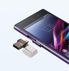 Waterproof Smartphone USB flash drive 64GB OTG USB pen drive.