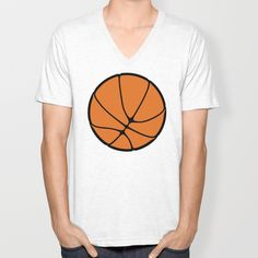 Hoop Dreams II Unisex V-Neck