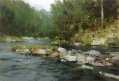 """""""White River""""- Mark Boedges"""
