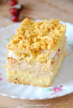 Jabłecznik wg Siostry Leonilii55 Apple Recipes, Cake Recipes, Tasty, Yummy Food, Breakfast Menu, Other Recipes, Food And Drink, Cooking Recipes, Sweets
