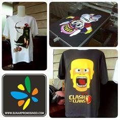 T-Shirt Print DTG