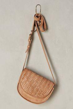 Alda Woven Saddle Bag