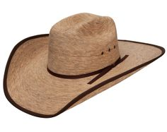 53226e5525b Resistol Dry Creek 20X Bound Edge Palm Leaf Cowboy Hat