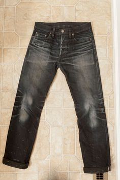 Worn for 9 months, washed 5 times. As nice as the fading is I like clean clothes far too much to do this on my own jeans.