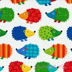 Timeless Treasures Hedgehogs White [TT-C1849-White] - $10.45 : Pink Chalk Fabrics is your online source for modern quilting cottons and sewing patterns., Cloth, Pattern + Tool for Modern Sewists.  Absolutely adore this for kids pillowcases :)