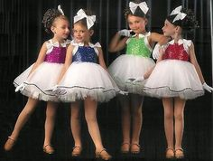 SWEETNESS Ballet Tutu Dance Dress Shirley Temple Costume ALL Colors/ ALL Sizes!