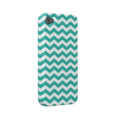 Chevron Pattern iPhone 4 / 4s Casemate Case Iphone 4 Case-mate Cases by whimsydesigns