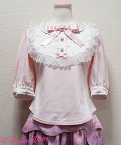 Angelic Pretty Sweetieラウンド切替カットソー