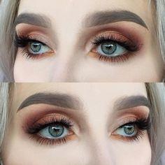 Eye Makeup Tips.Smokey Eye Makeup Tips - For a Catchy and Impressive Look Pretty Makeup, Love Makeup, Makeup Inspo, Makeup Art, Makeup Inspiration, Mud Makeup, Lime Crime Makeup, All Things Beauty, Beauty Make Up