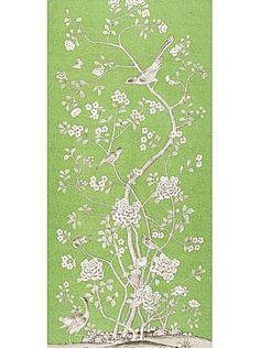 DecoratorsBest - Detail1 - Sch 175040 - Chinois Palais - Lettuce - Fabrics - DecoratorsBest