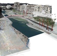 Galería de Segundo Lugar Concurso De Ideas Para La Integración Urbana Del Río Guadalmedina - 7