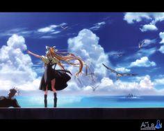 """"""" fly in the air"""" Misuzu :3"""