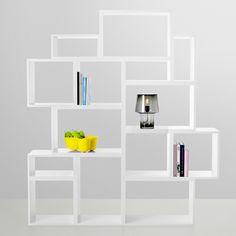 Stacked shelf module medium, white - Bookcases - Furniture - Finnish Design Shop