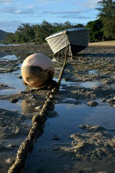 Boat at low tide. - View...: Photo by Photographer patrick coombes