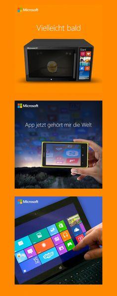 Konzeption und Kreation mehrer Posting Serien für die Facebook Fanpage von Microsoft. Microsoft, App, Facebook, Engagement, Apps, Engagements