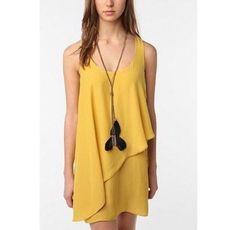Silence + Noise Yellow Dress - Mercari: Anyone can buy & sell