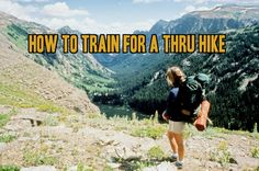 Question: Whats the best way to train for a long thru hike? Though it may sound easy, a long thru hike such as the Appalachian Trail or Pacific Crest Trail is anything but that. Some great books on thru hiking. Thru Hiking, Hiking Tips, Camping And Hiking, Hiking Gear, Hiking Backpack, Camping Gear, Hiking Europe, Backpacking Tips, Camping Hacks