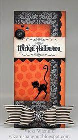 Halloweencard - Vicki is amazing