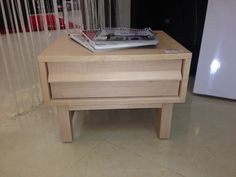 Can you picture this night table in your place? -Bedroom Furniture #EQ3ModernFurniture www.aruba-furniture.com