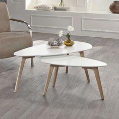 Beistelltisch im Retro Style Weiß Eiche Jetzt bestellen unter: https://moebel.ladendirekt.de/wohnzimmer/tische/beistelltische/?uid=df08da33-7690-5f74-8ee7-72c6be467317&utm_source=pinterest&utm_medium=pin&utm_campaign=boards #salontisch #tischgestell #sofa #wohnzimmertisch #couchtisch #beistelltisch #anstelltisch #beistelltische #vollholzdoppelbett #tische #beistelltischchen #beitisch #tisch #sofatisch #wohnzimmer
