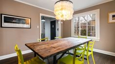 Charming Remodeled House Tour  LOVE this table.v