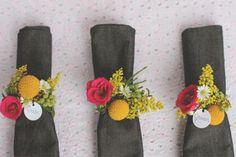 Ideas para elaborar anillos para servilletas