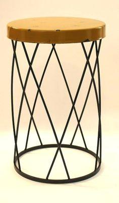 Gelbe Metall Beistelltisch   Gelbe Metall Beistelltisch U2013 Hier Einige Bilder  Von Design Ideen Für