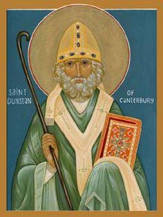 St. Dunstan - Saints & Angels - Catholic Online