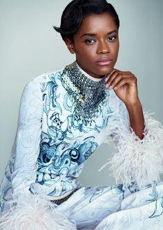 Black Panther Breakthrough Star Letitia Wright on How She Became Shuri, Wakanda's Brainy Princess | W Magazine