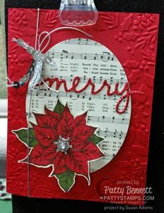 Christmas Card & Tag Ideas from Susan's | Patty's Stamping Spot | Bloglovin'