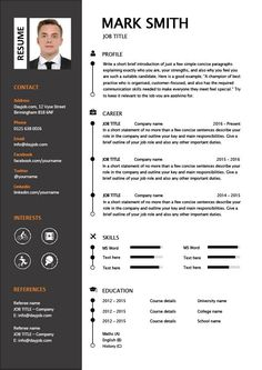View our very latest CV designs in eye catching formats and layouts. Job Resume Format, Resume Layout, Resume Writing, Modern Resume Template, Cv Template, Resume Templates, Cover Letter Template, Letter Templates, Cv Design