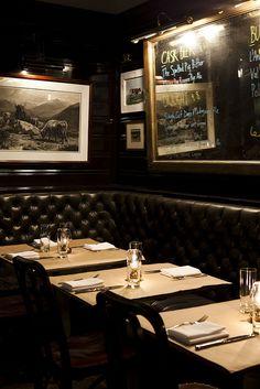 The Breslin Bar & Dining Room Café Bar, Hotel Restaurant, Restaurant Design, Restaurant Interiors, Bar Interior, Interior Design, Pub Design, Cafe Bistro, Ace Hotel