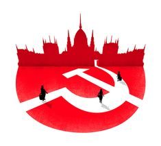 BUDAPEST- FLYING THE RED FLAG Budapest is a place of paradox.  A mixture of Communist mementoes and Capitalist dreams. •EASYJET TRAVELLER•