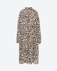 Image 8 of PRINTED SHIRT DRESS from Zara