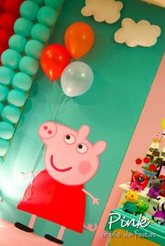 Peppa Pig Birthday Party Ideas | Photo 40 of 146 | Catch My Party