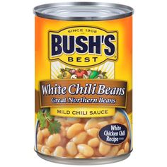 Make your best white chili even better. We slow cook great northern beans until they're tender, then simmer them in a white chili sauce perfectly seasoned with garlic, cumin and onion. French Toast Bake, French Toast Casserole, Mexican Casserole, Taco Casserole, Casserole Recipes, White Chili, White Chicken Chili, Chili Sauce, Spicy Sauce