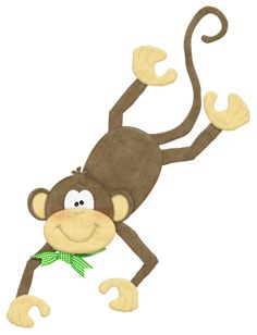 """Photo from album """"Goin' bananas"""" on Yandex. Barrel Of Monkeys, Monkey 3, Clip Art Pictures, Monkey Business, Cute Images, Paper Quilling, Scrapbook Cards, Tigger, Disney Characters"""
