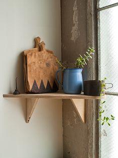 sneak peek: ariele alasko's studio Cozy Office, Furniture Making, Design Sponge, Design Studio, Shelves, Studio, Interior And Exterior, Garage Studio, Homey